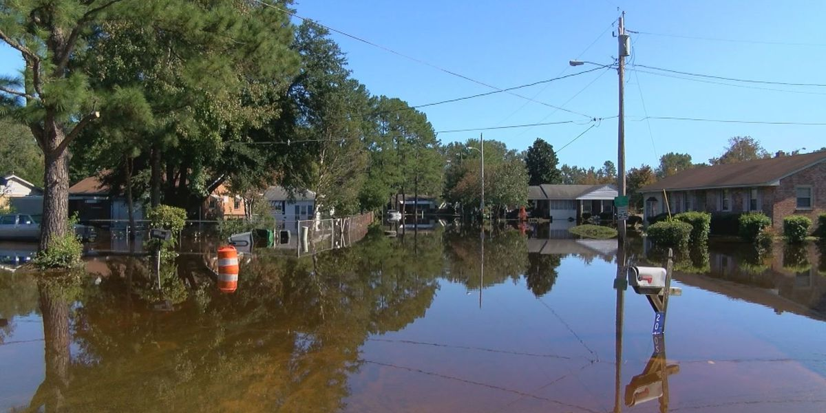 Nearly a week after storm, Lumberton still mired in floodwater