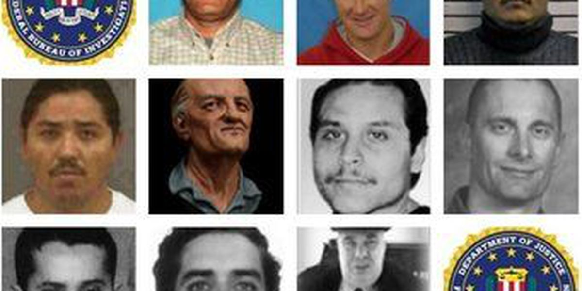 FBI: Top ten most wanted fugitives