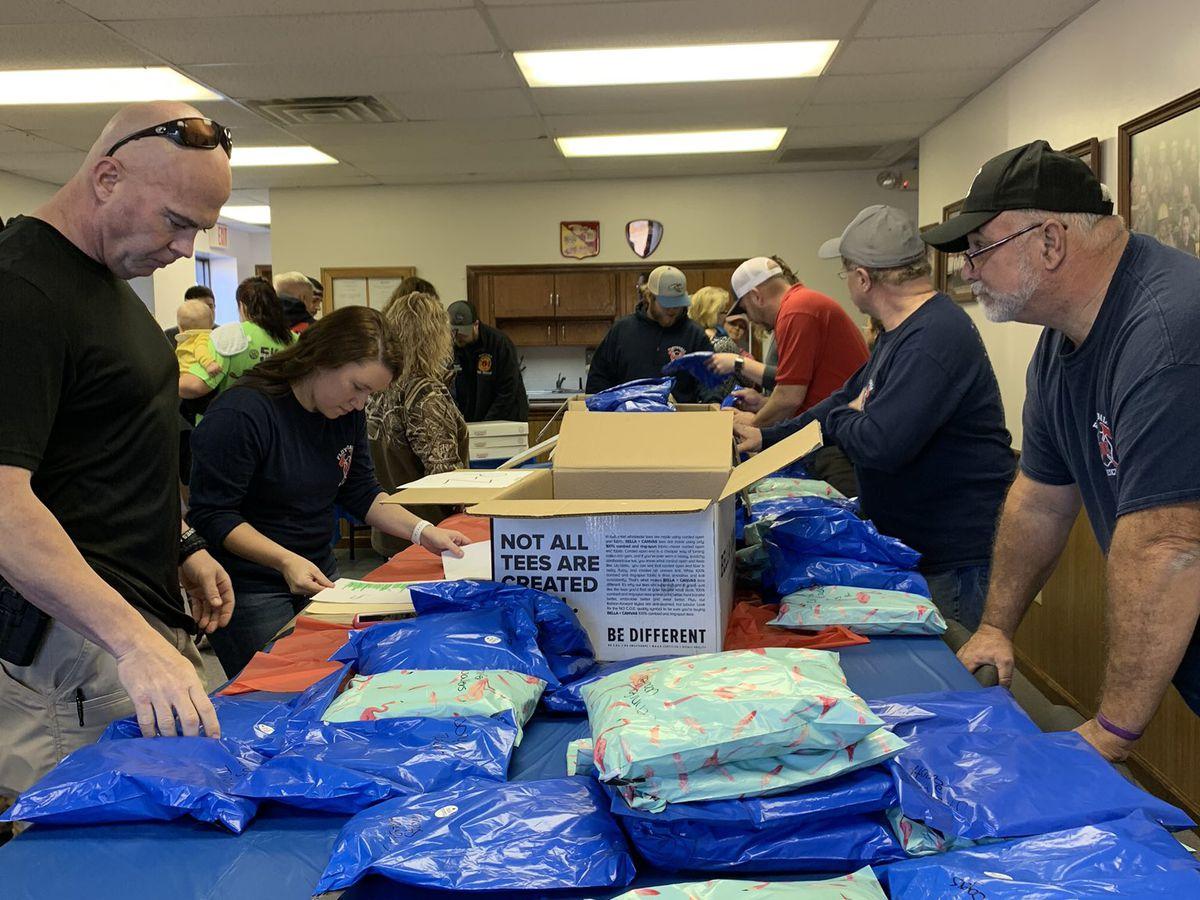 Pee Dee community raises hundreds for family of slain Florence airport officer