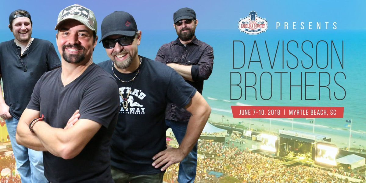 Davisson Brothers scheduled to perform at 2018 CCMF