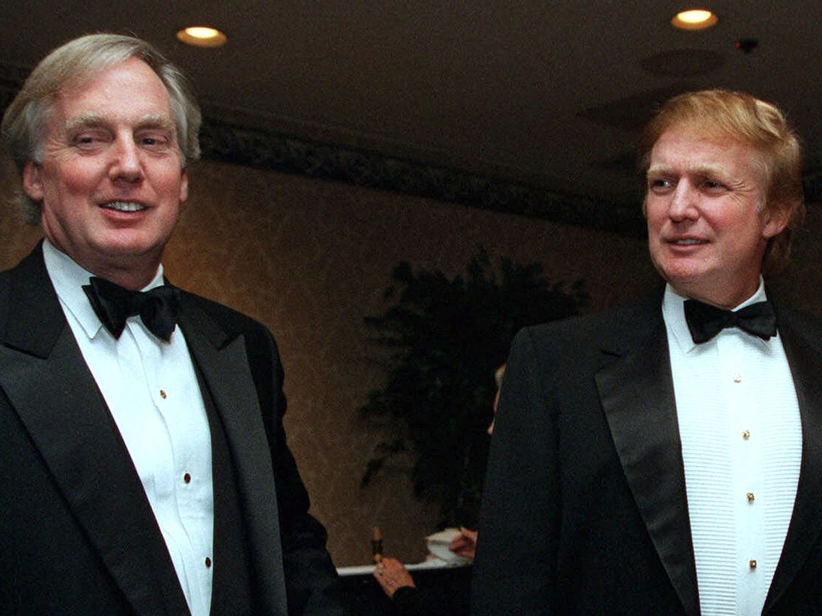 Trump's younger brother, Robert, is hospitalized in New York