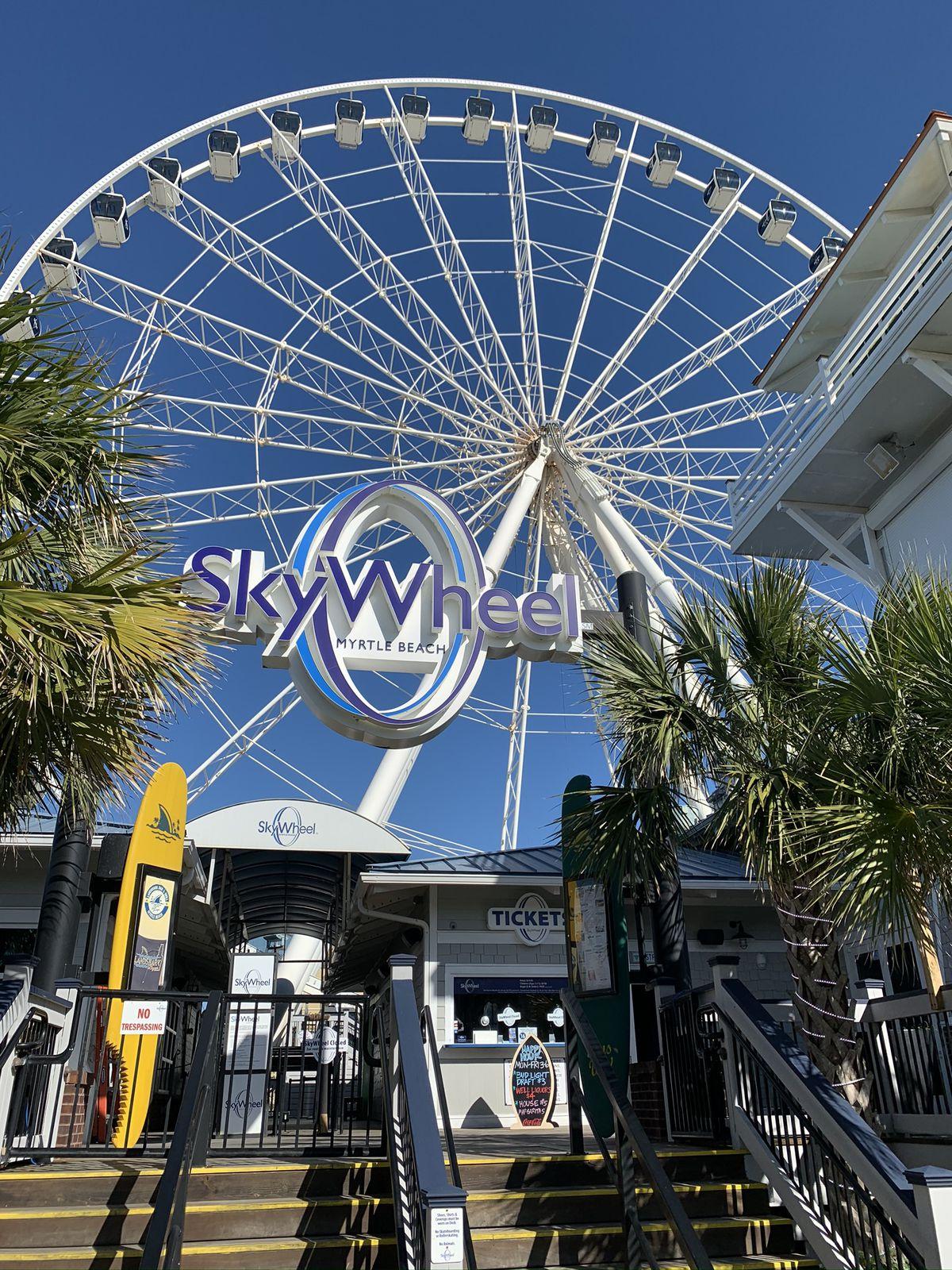 Myrtle Beach SkyWheel Closed For Winter Maintenance