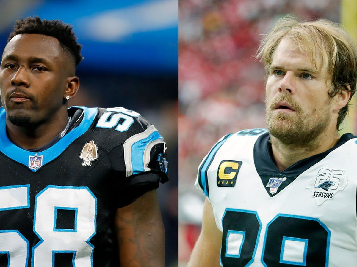 Thomas Davis, Greg Olsen to officially retire as Carolina Panthers in special ceremony