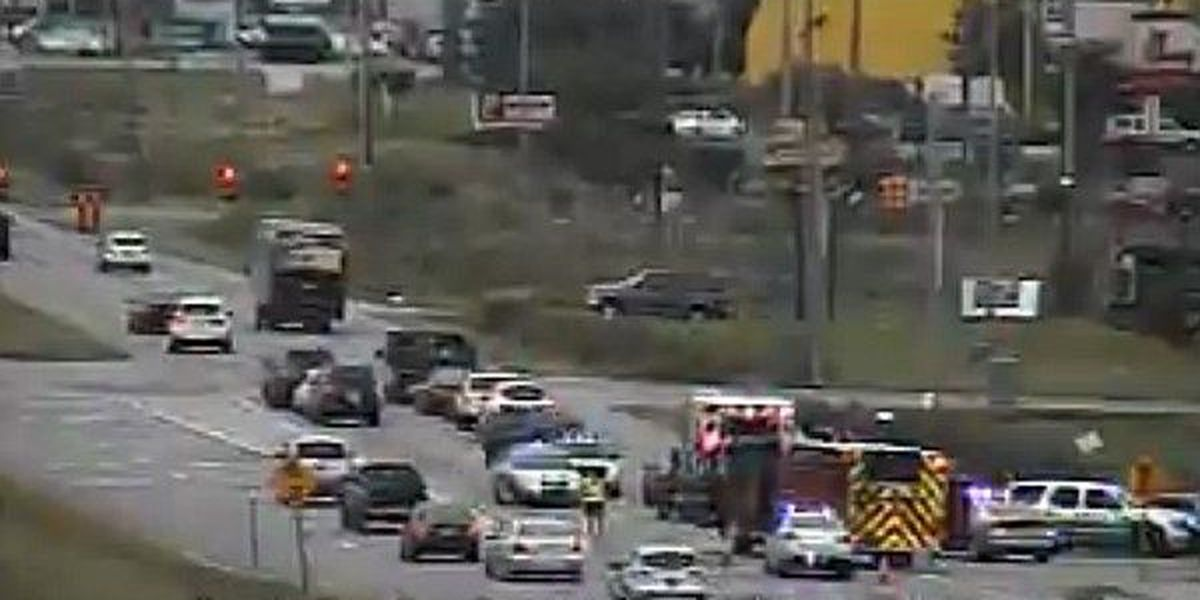 Accident blocks Hwy 501 southbound in Carolina Forest