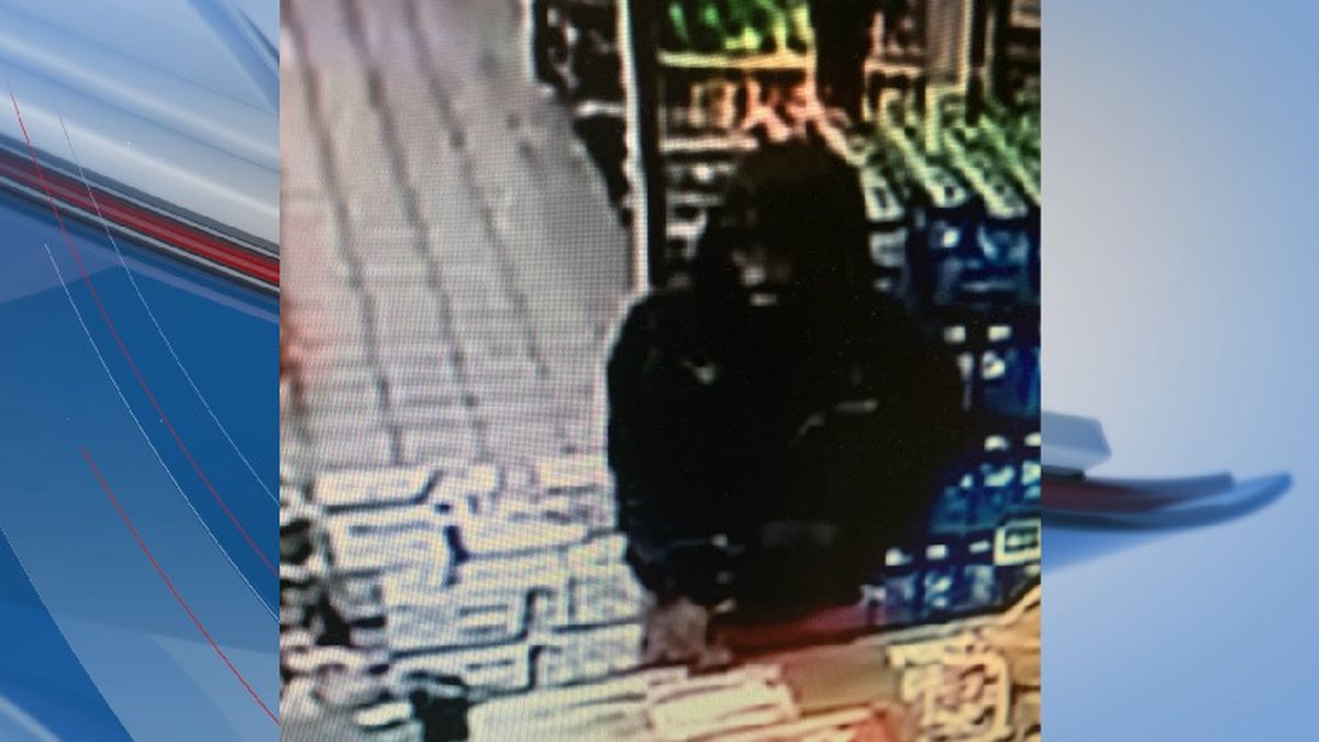 Police release photos of suspect wanted in Conway convenience store armed robbery