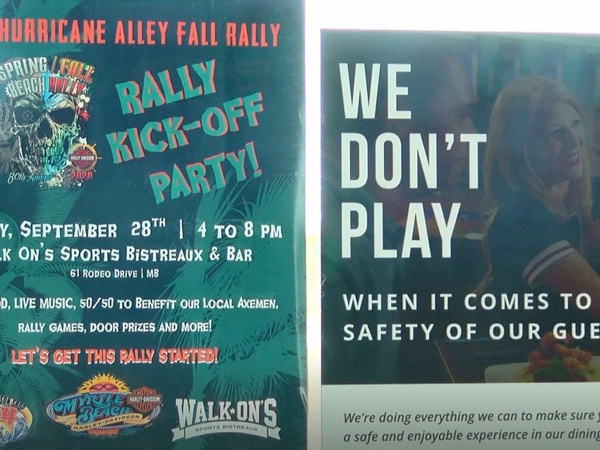 Grand Strand businesses preparing safety procedures ahead of bike rally