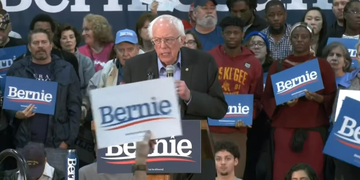 Sanders holds rally in Myrtle Beach days before S.C. Democratic primary