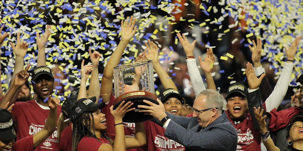Gamecocks take SEC Tournament title with commanding win over Mississippi State