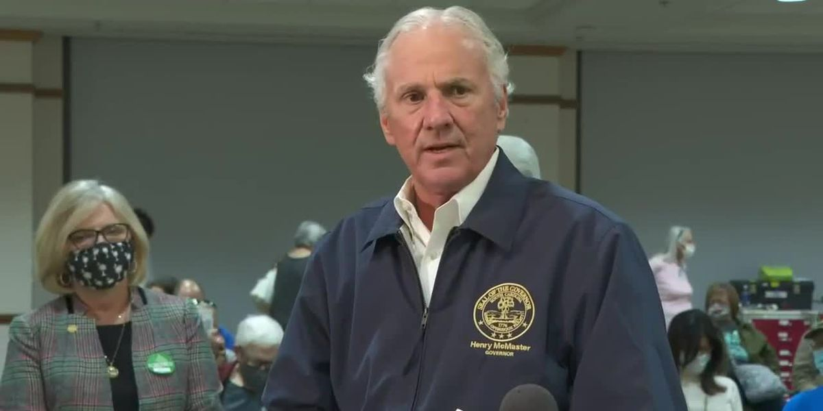 RAW: Gov. McMaster discusses vaccine rollout in S.C.