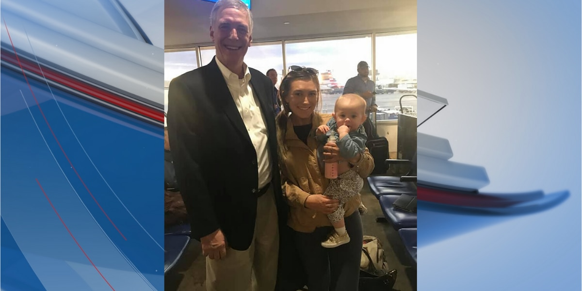 Congressman Rice gives first-class seat to mother, baby caught up in flight delays
