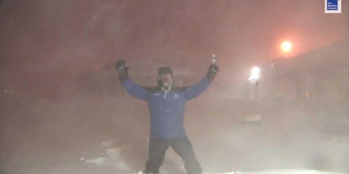 It's happening! Jim Cantore is heading to NC for snow that 'will come in like a hammer'