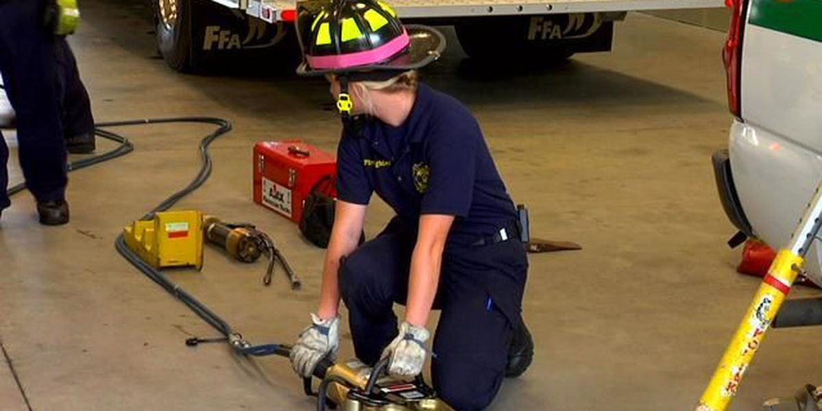 Conway Fire Department hires its first female firefighter