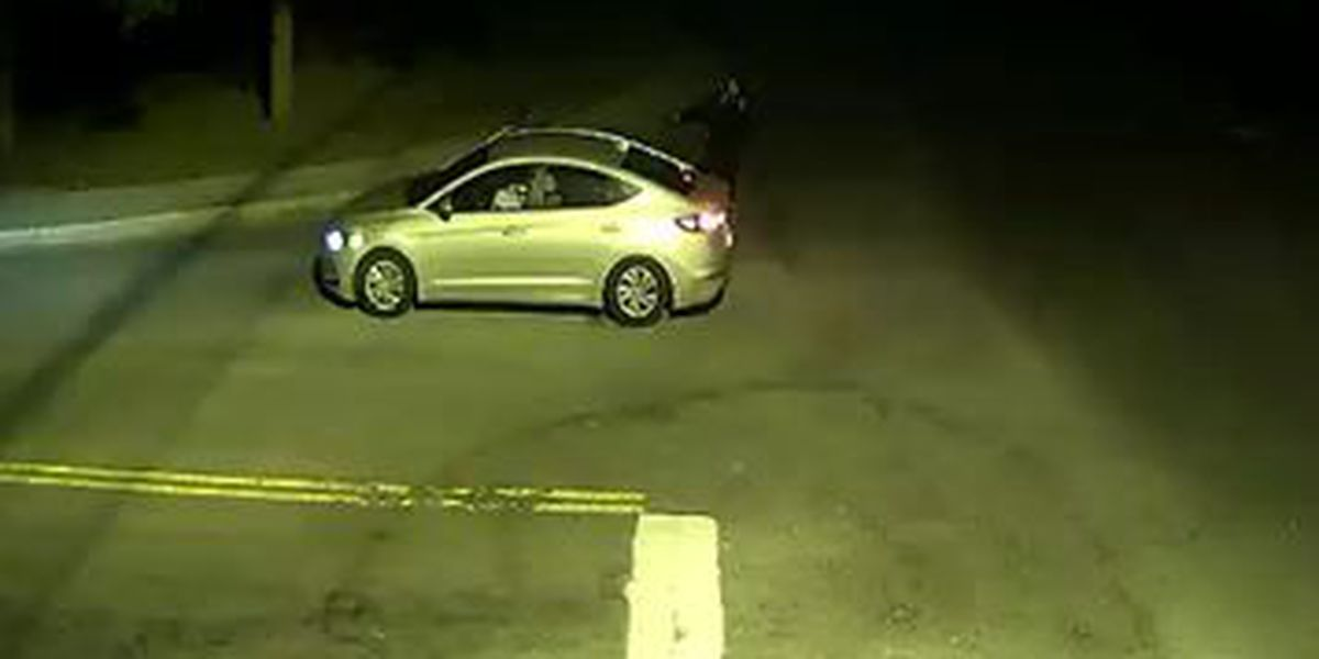 Police release image of car connected to 2 shooting, robbery incidents on Monday