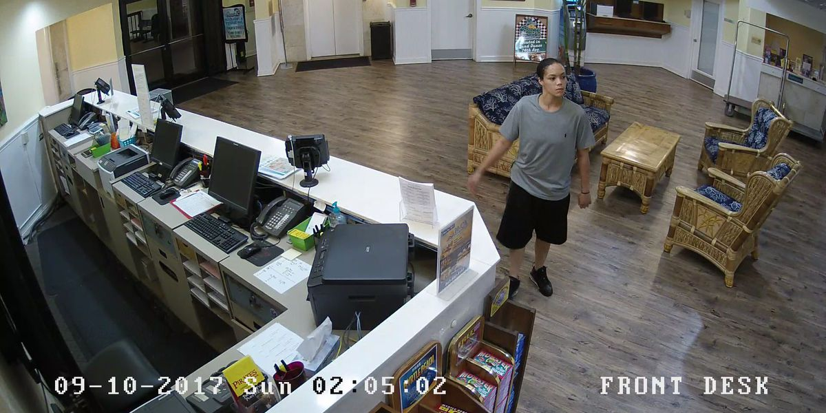 Woman wanted by multiple local police agencies after reportedly robbing two hotel employees at gunpoint