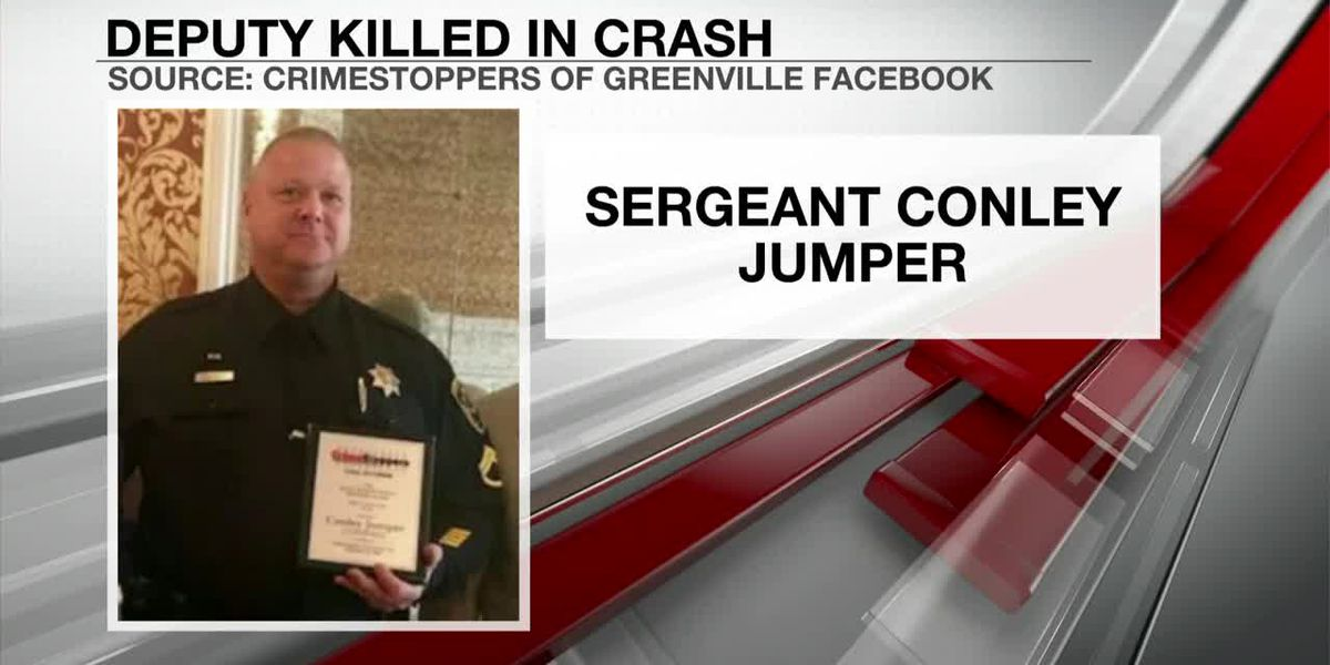 VIDEO: Greenville Co. deputy killed in crash during traffic stop, sheriff confirms