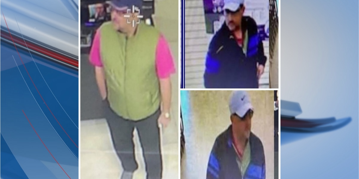Police search for suspect who swiped wallet from golf bag in North Myrtle Beach