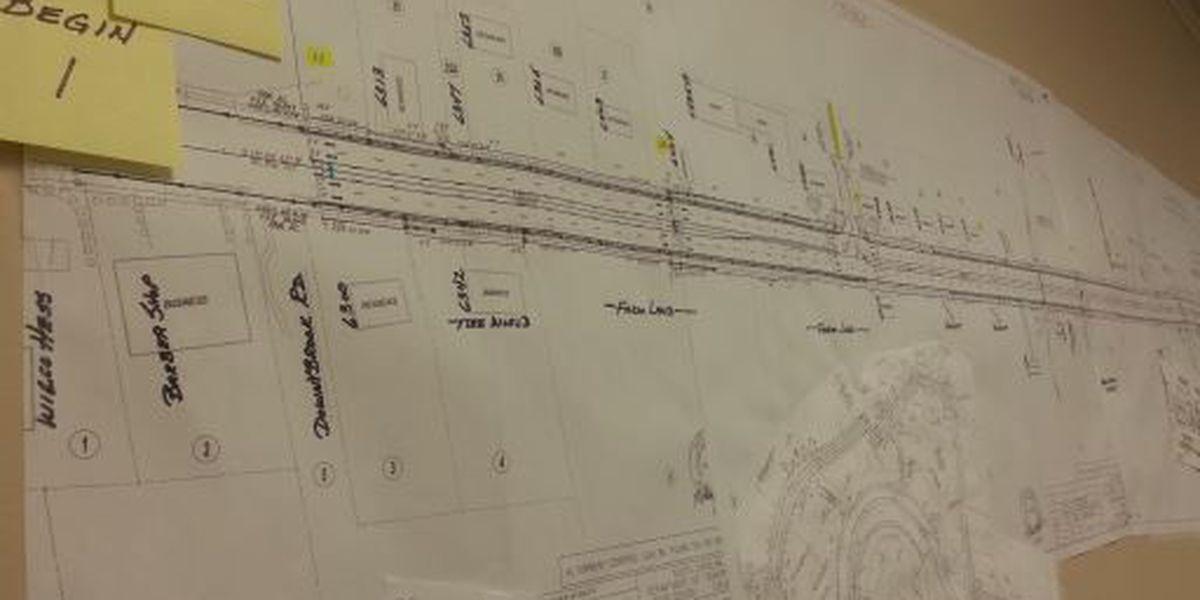 Construction progresses on Hwy 707