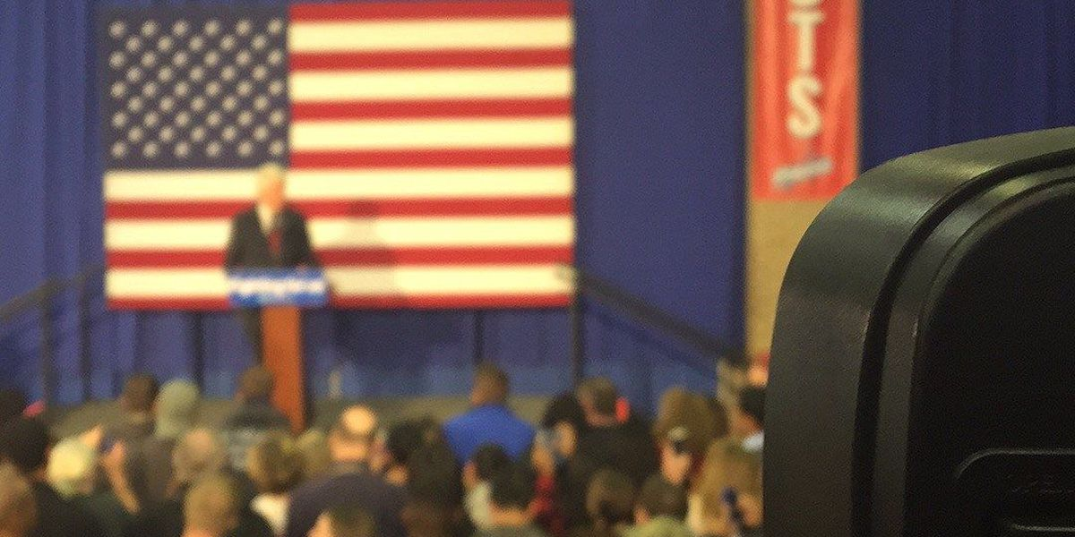 Former President Bill Clinton delivers speech at FMU in support of wife Hillary