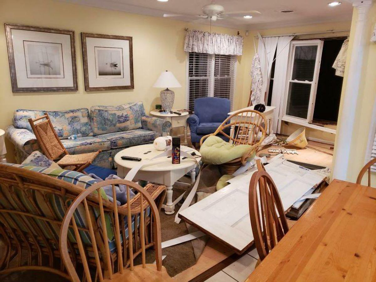 'Like a freight train': Family of man hurt in Garden City tornado describes terrifying moments
