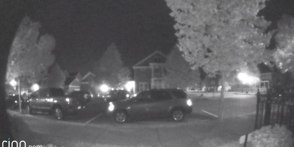 Surveillance video catches man snooping around cars in Market Common