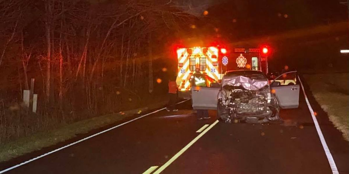 Crews called to crash involving vehicle, cow in Loris area