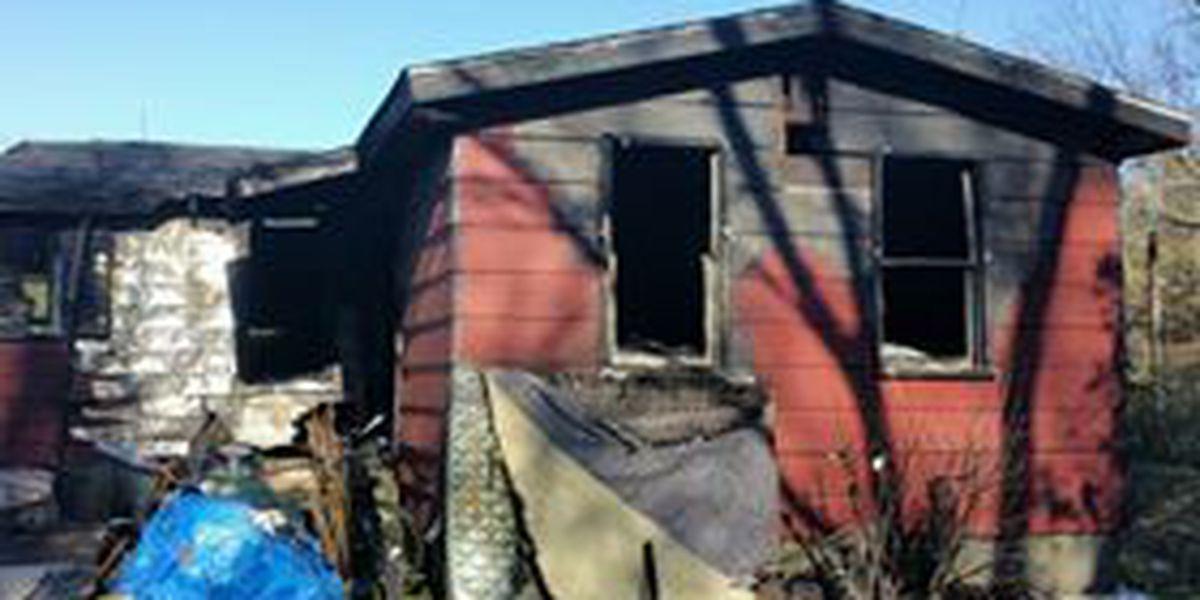 Fire crews battle heavy blaze Wednesday in Marion