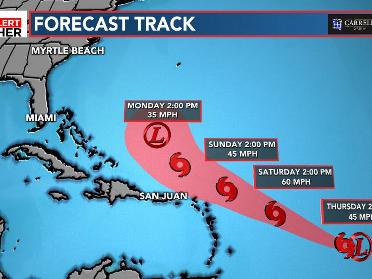 FIRST ALERT: Latest update on Tropical Depression 11
