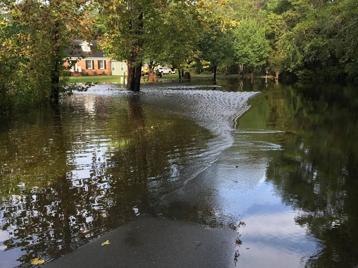 Hundreds of roads remain closed in the Grand Strand/ Pee Dee