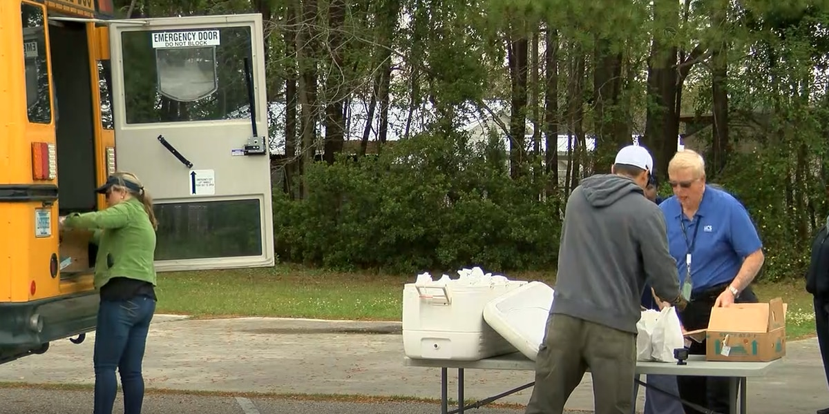 Horry County Schools add delivery locations for lunch during coronavirus shutdown