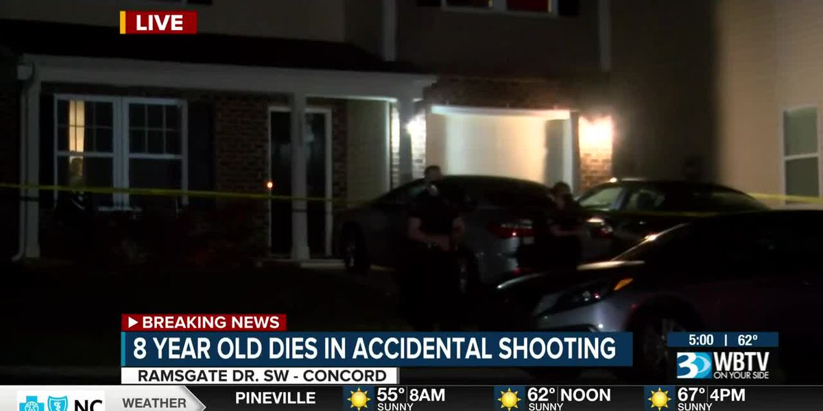 8-year-old killed in accidental shooting in Concord