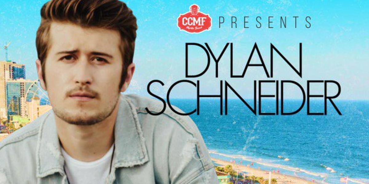 Dylan Schneider set to perform at 2019 CCMF