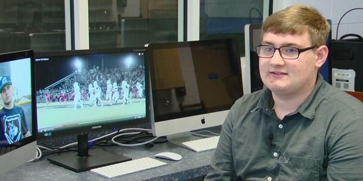 Student Spotlight: Freshman recognized for video production excellence