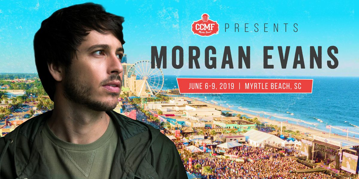 Morgan Evans scheduled to perform at 2019 CCMF