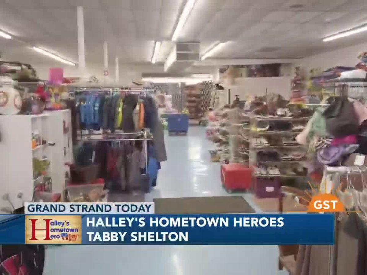 Halley's Hometown Heroes: Tabby Shelton, Fostering Hope
