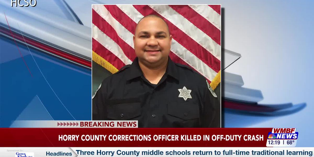 Horry County corrections officer identified as victim of deadly motorcycle crash
