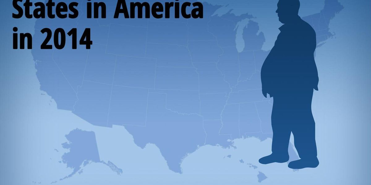 Report ranks states by highest adult obesity rate