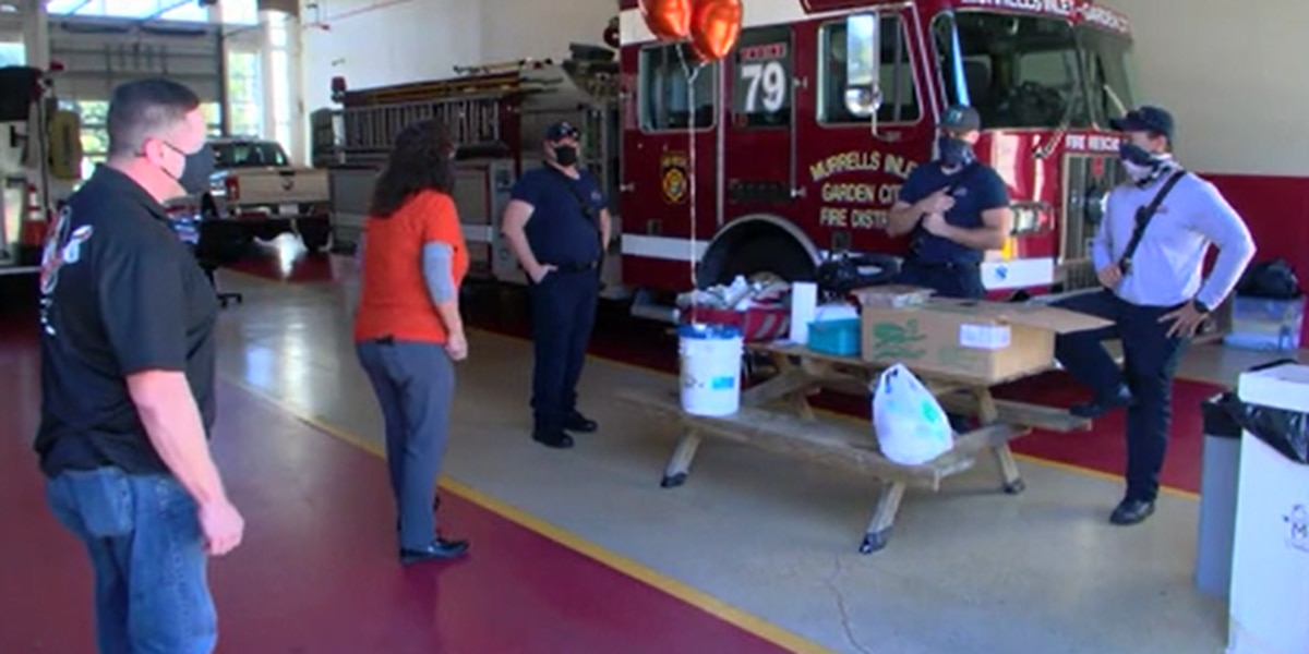 'They deserve it': Murrells Inlet Home Depot employees surprise first responders with lunch