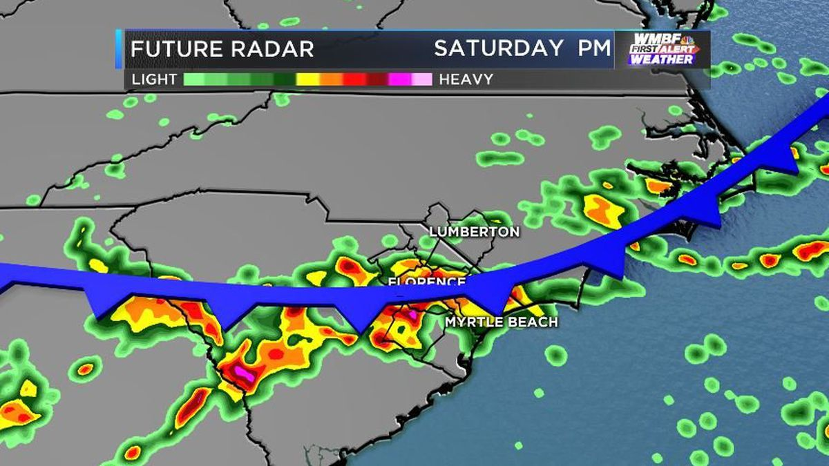 FIRST ALERT: Stormy Saturday followed by a cool Sunday breeze