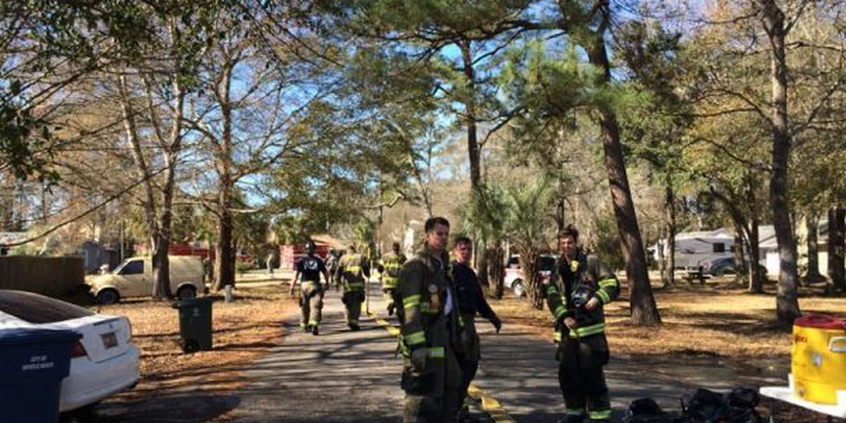 Crews contain chimney fire at a Myrtle Beach residence