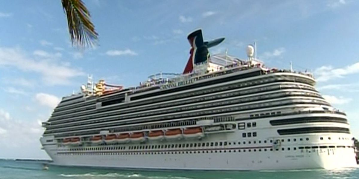 Carnival cancels all cruises leaving from Charleston through end of February