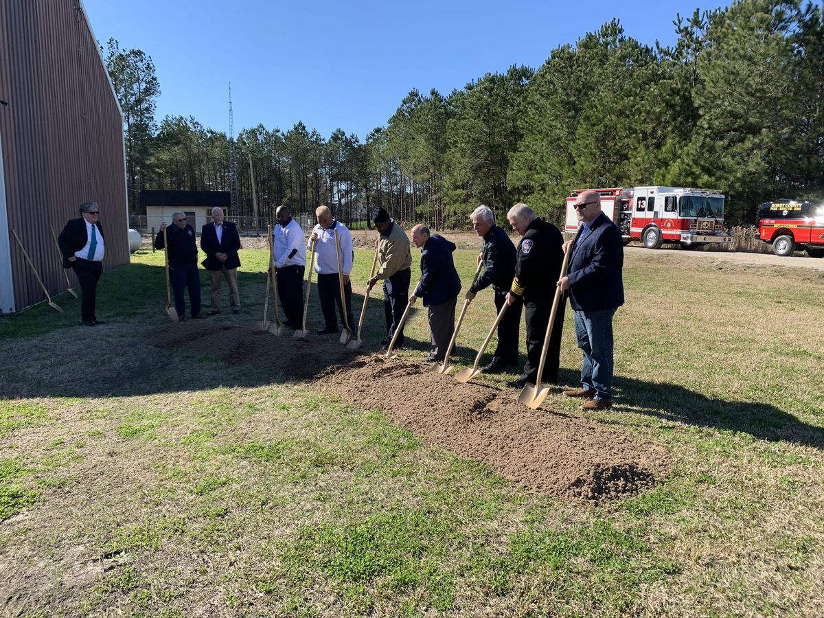 Horry County leaders break ground on new fire station in Longs