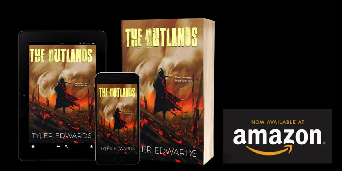 Local author publishes first novel 'The Outlands'