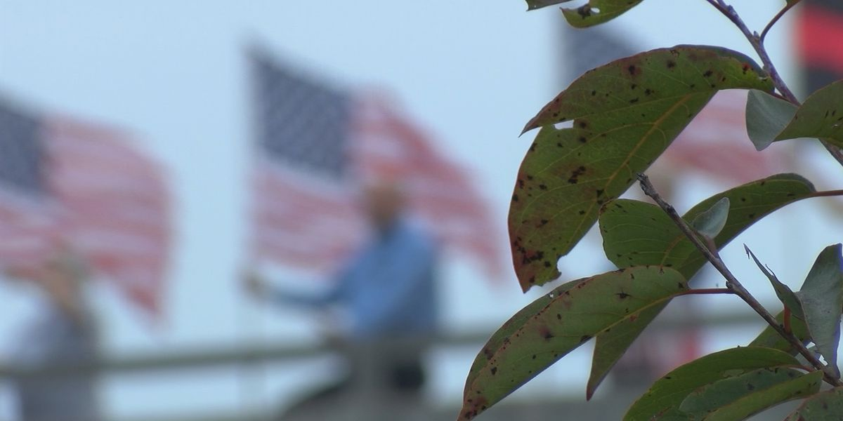 Tradition of patriotic display on 9/11 over busy SC interstate continues