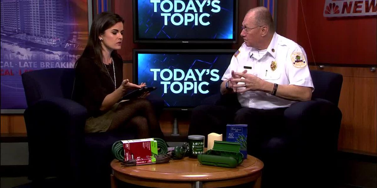 Today's Topic: Keeping your home safe over the holidays