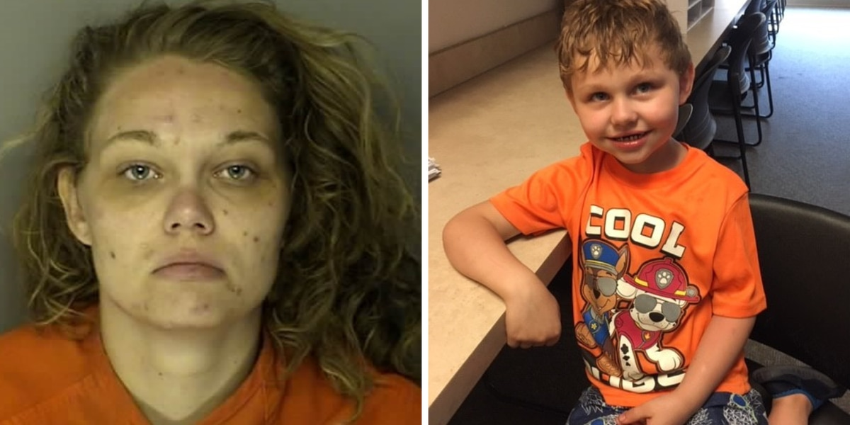 Mother accused of leaving 5-year-old child with landscaper in Conway
