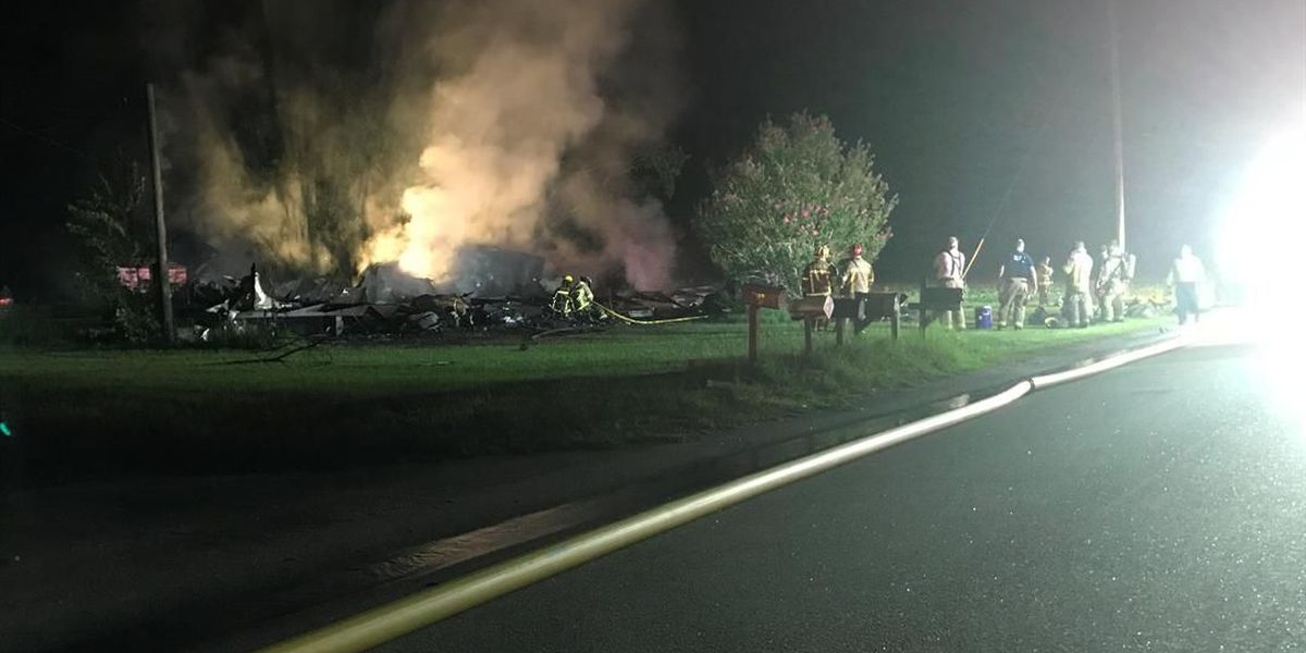 Conway mobile home total loss after fire