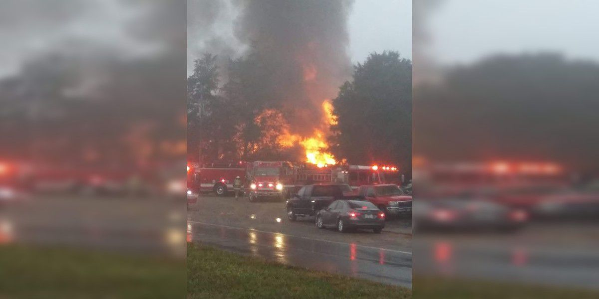 One person dead, 1 injured in large Cleveland Co. campground fire