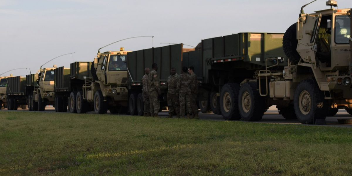 South Carolina National Guard delivers personal protective equipment for coronavirus protection