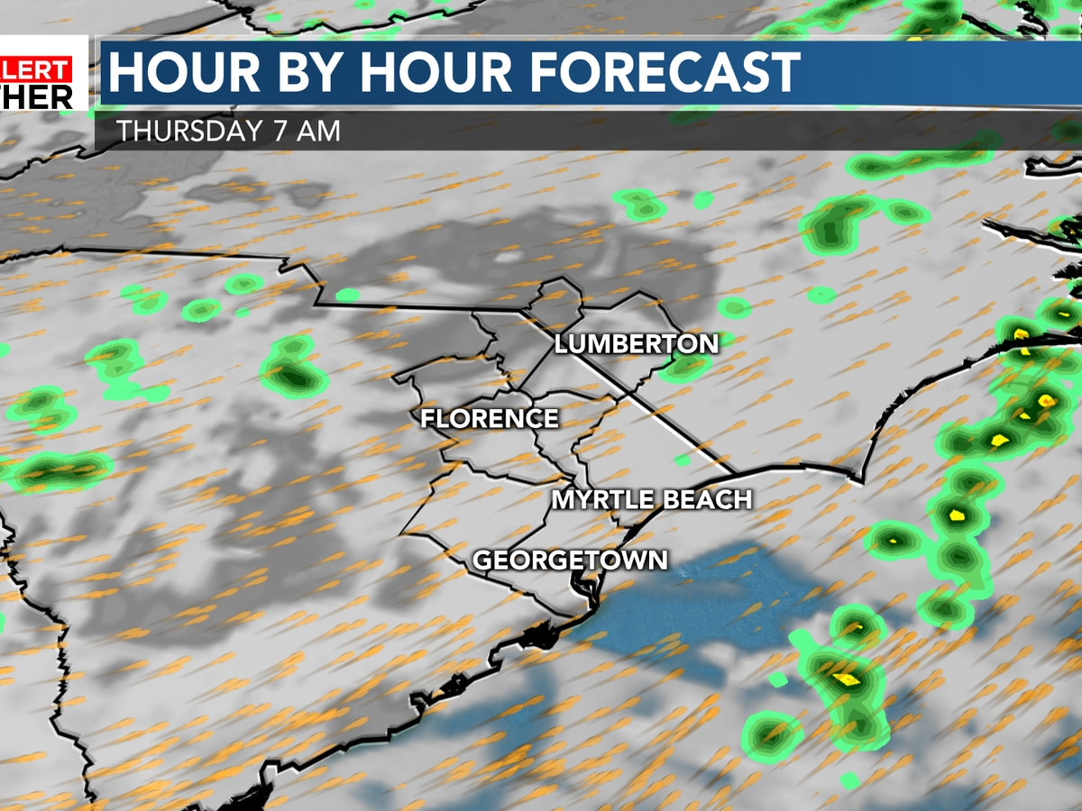 FIRST ALERT: Warmer Thanksgiving ahead; watching for some showers