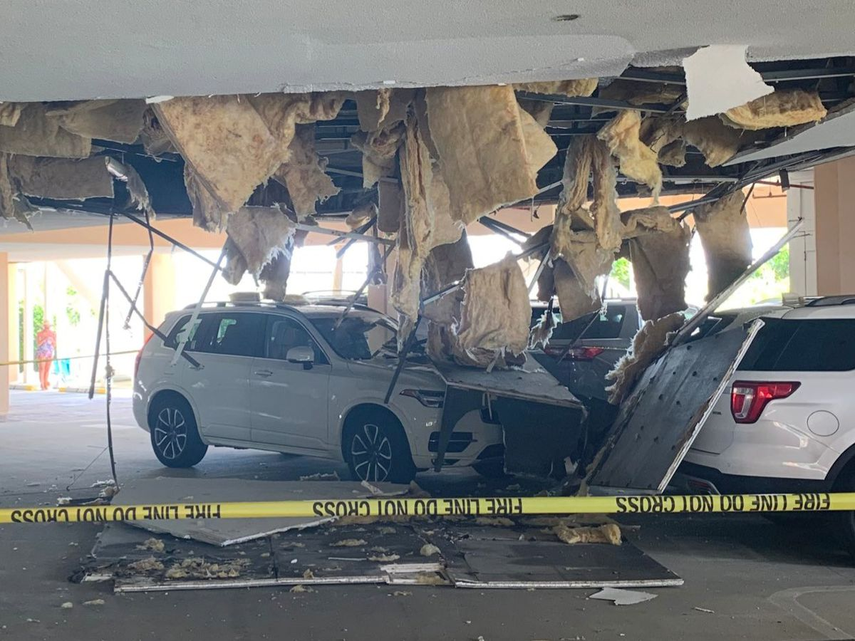 Officials: One person injured after ceiling collapses near Litchfield Beach